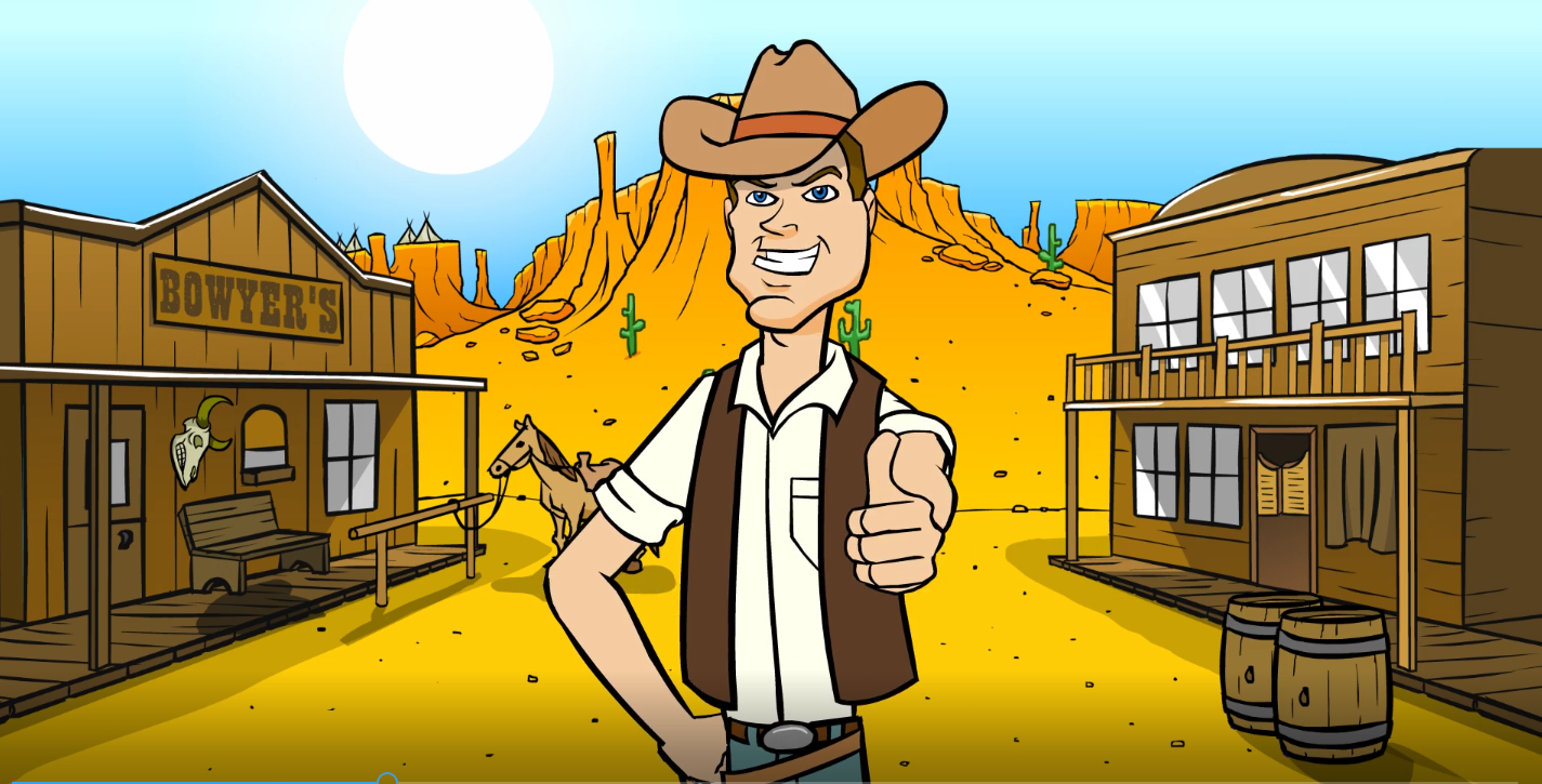 Brilliant Old West 2D Animation For You