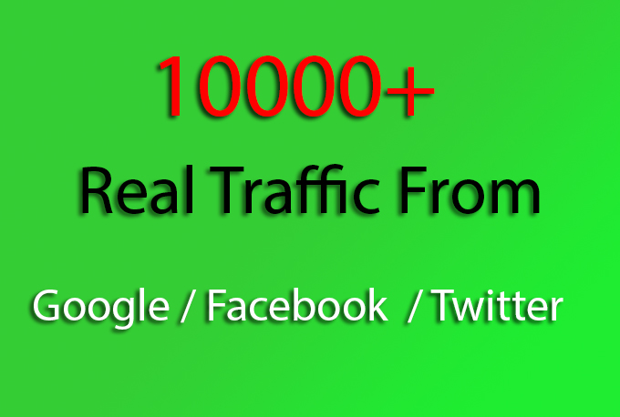 Give 50000+ Real Direct Visitors From Worldwide