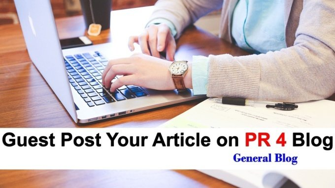 Guest Post on my PR4 Blog with Dofollow Backlink