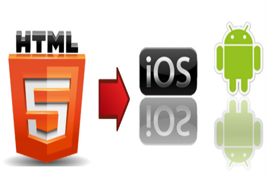 Convert HTML5 To android apps