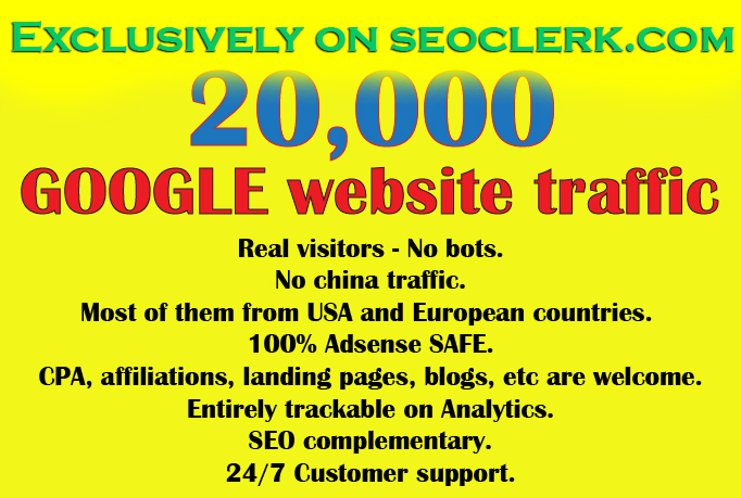 Get 20000 + Visitors from Google in less than one week