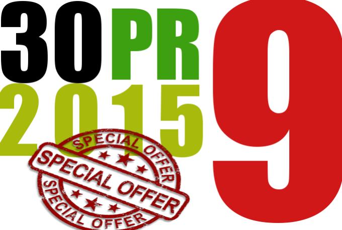 I will manually do 30 PR9 Safe SEO High Pr Backlinks 2015 Best Results