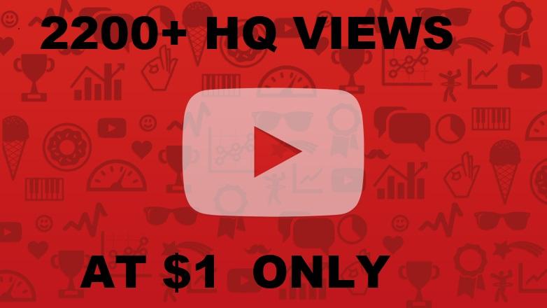 Buy 3000+ Human HR You_Tube Vie_ws Super Quality work