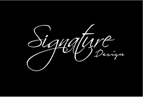 I will design a Professional Signature text logo