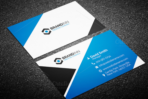 Do Professional Attractive Business Card For SEOClerks - Professional business card design templates