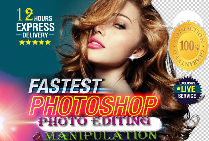 High Quality Photos Editing and Manipulation Service Very Perfectly
