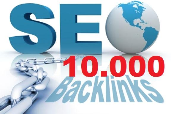 10k Backlinks based on your Keywords