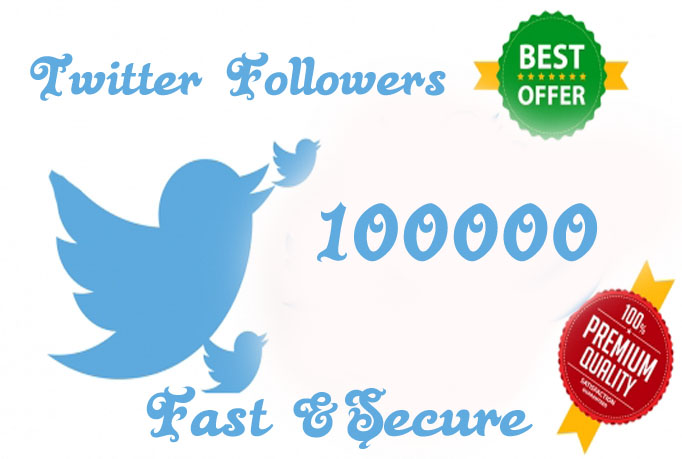 I Will Provide 10000 Twitter Followers To Any Account