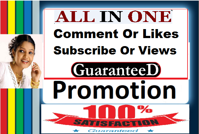 YouTube Package promotion All Services in here Instant Start