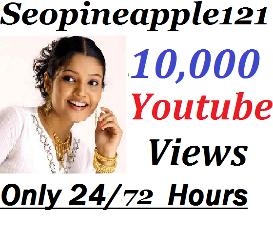 10,000+ HR YouTube Views + 100 Extra Bonus YouTube Likes Real And Non Drop