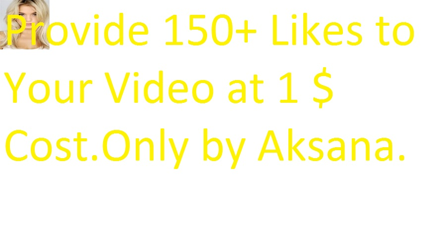 I will add 300 ++ likes manually to your any youtube video only