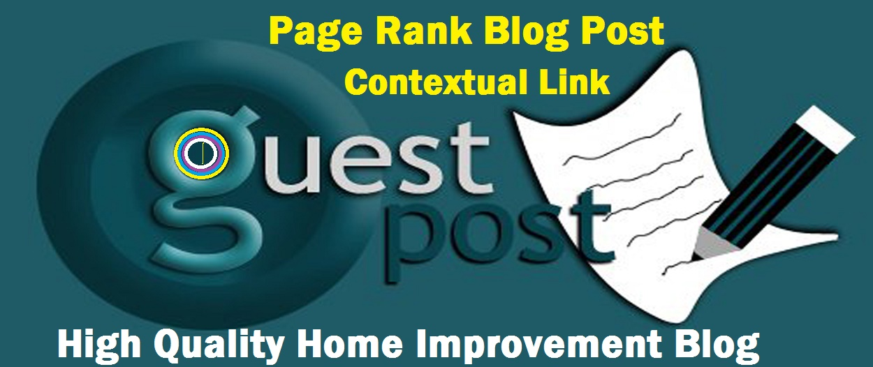 Contextual 500+ words Guest Post, Dofollow Backlinks PR1 to PR7 High PR General diffrent 15+ Blogs.