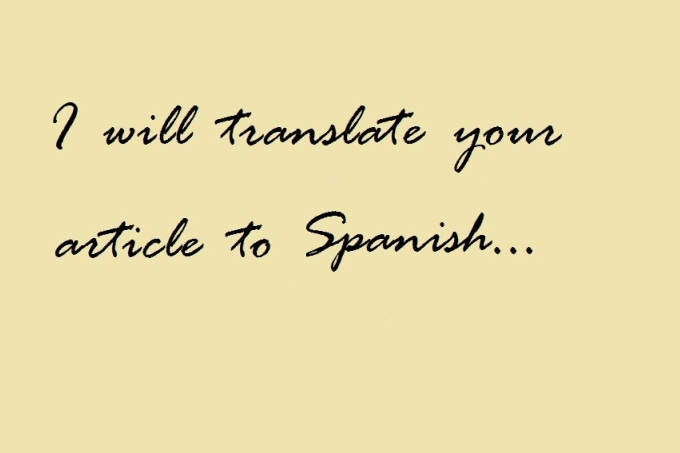 I will translate up to 500 words to Spanish