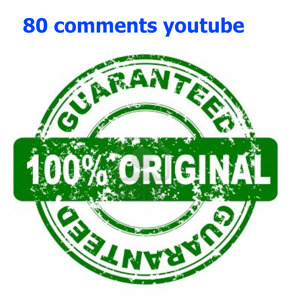80 in Your Video only for