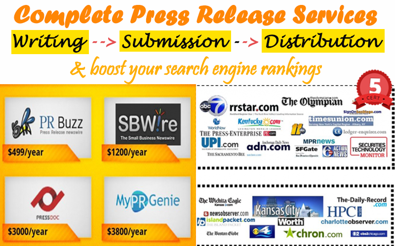Do Search engine optimized press release Writing,  Submission & Distribution