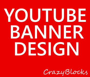 Youtube Banner Design with unlimited revisions