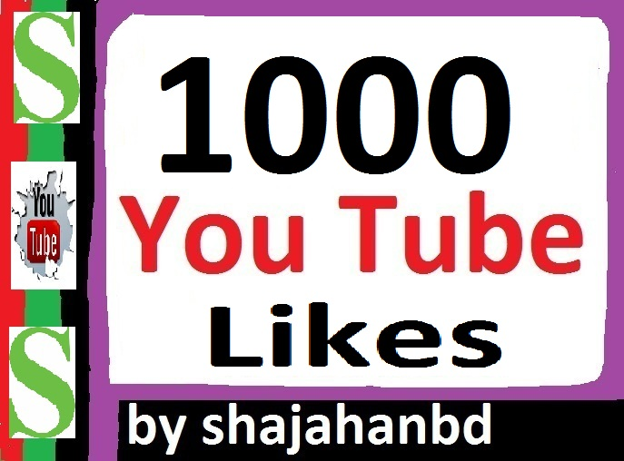 Instant 1000+ Real YouTube Likes Life Time Guarantee