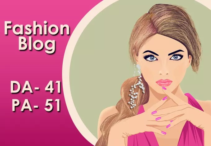 I will do Guest post on High Quality DA 40 PA 50 Fashion blog for