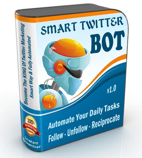 Smart Twitter Follow / Unfollow Bot
