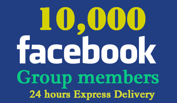 Provide you 10,000 Real Facebook Group Members for any group