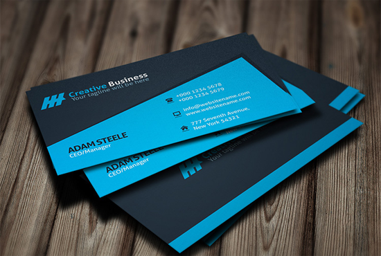 I will professionally design innovative and stylish Business Cards