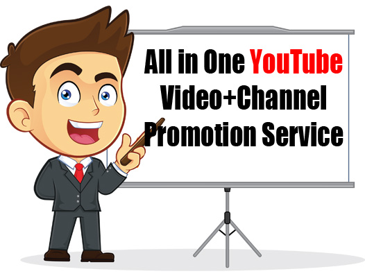 All in One YouTube Promotion Service Get Your Message Across!