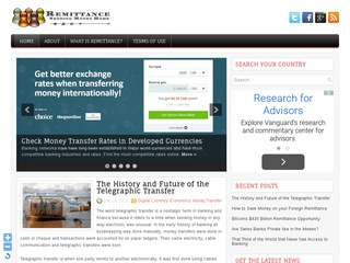International Remittance Advice