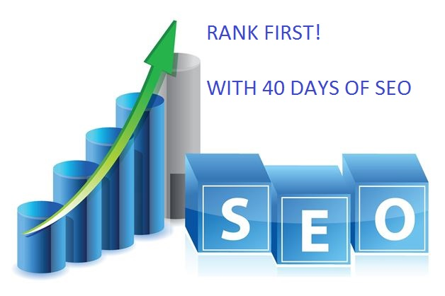 40 DAYS OF SEO AND RANK YOU HIGH IN GOOGLE