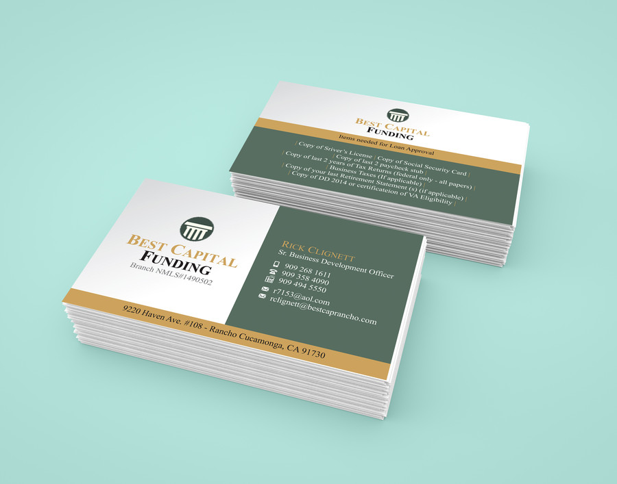 Design Professional Business Card for $5 - SEOClerks