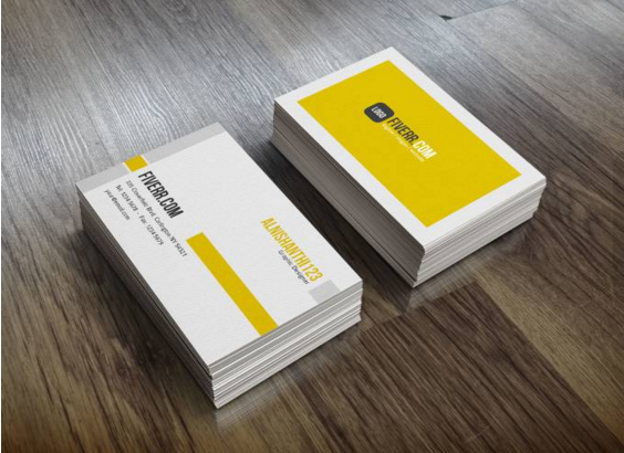 I will design professional double side business card with unlimited revision