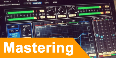 AUDIO MASTERING + MORE