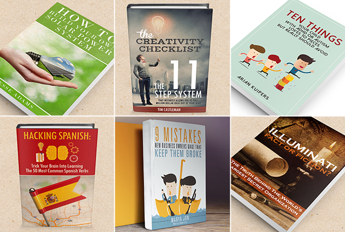 design your professional ebook and kindle cover