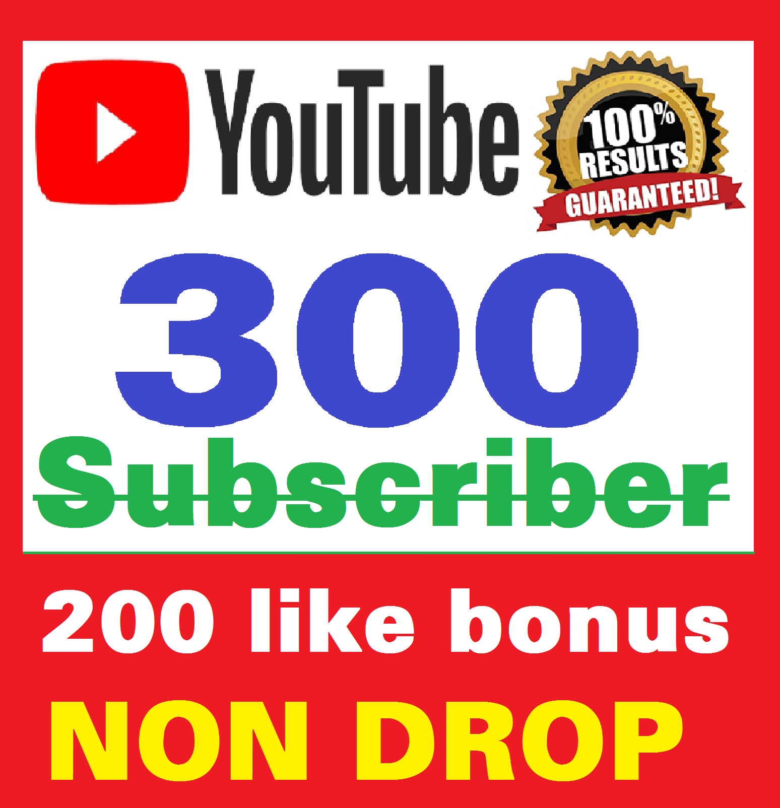 Add 300+ Real Youtube Subscribers and 200+ Likes YT Safe and Non Drop, Instant Start , top Youtube Views