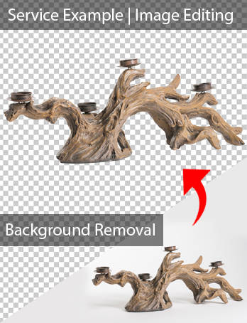 I will do background removal with in 24 hours