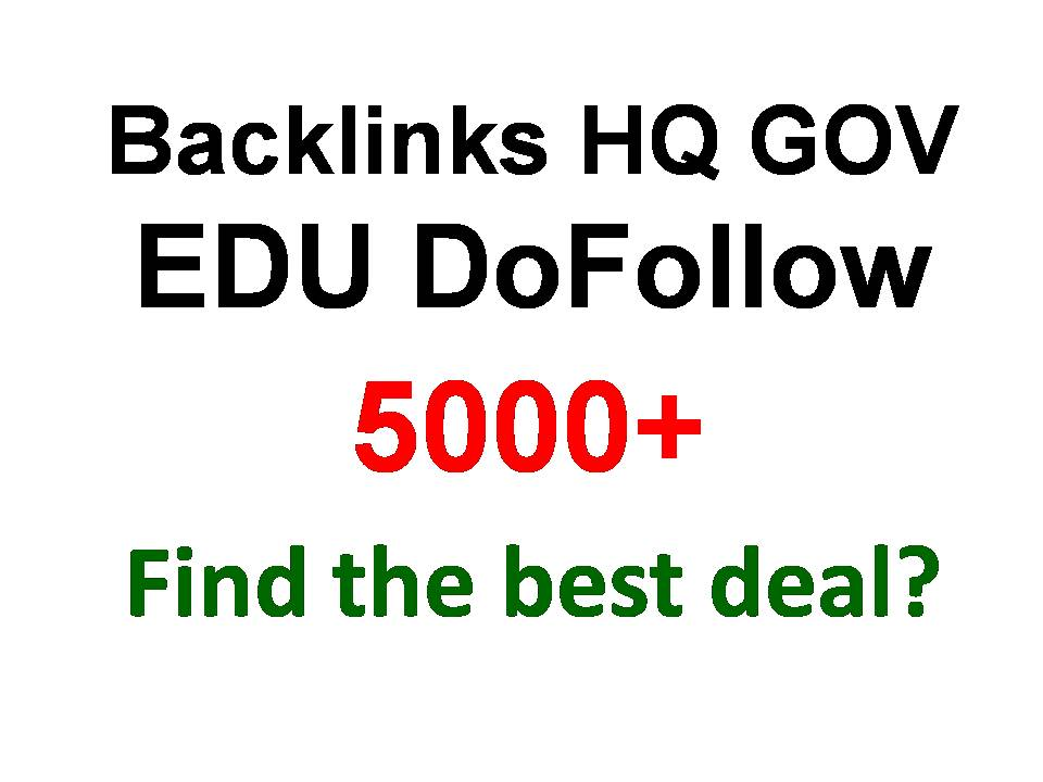 I will submit your website to 5,000 backlinks