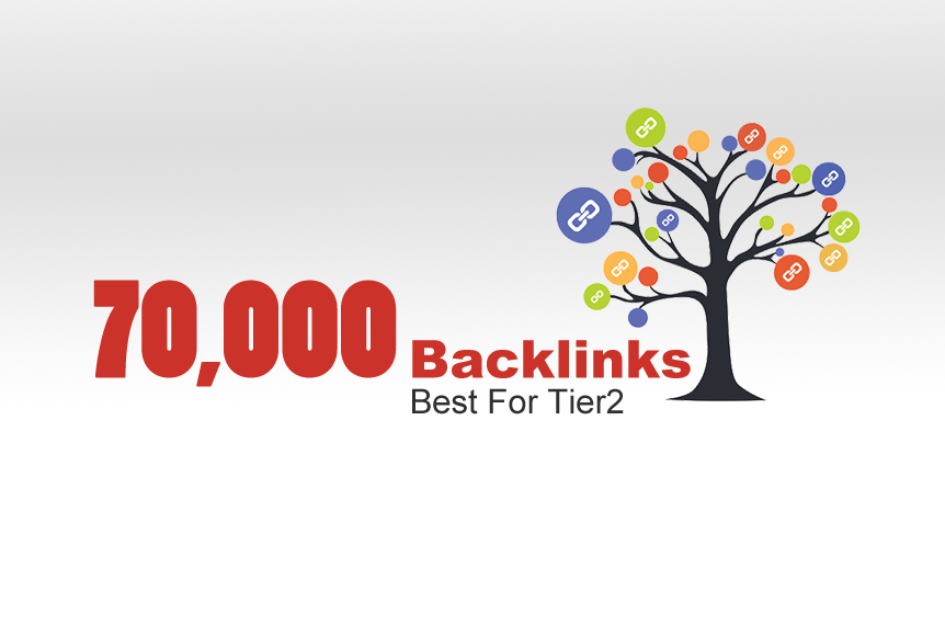 70,000 backlinks,  best for tier2