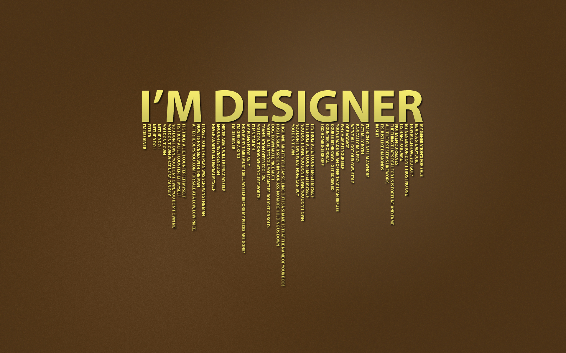 I am a Designer and I Will Design any thing to you