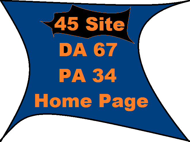 I Will Add You Link On 45 Site DA 67 PA 34 Home Page