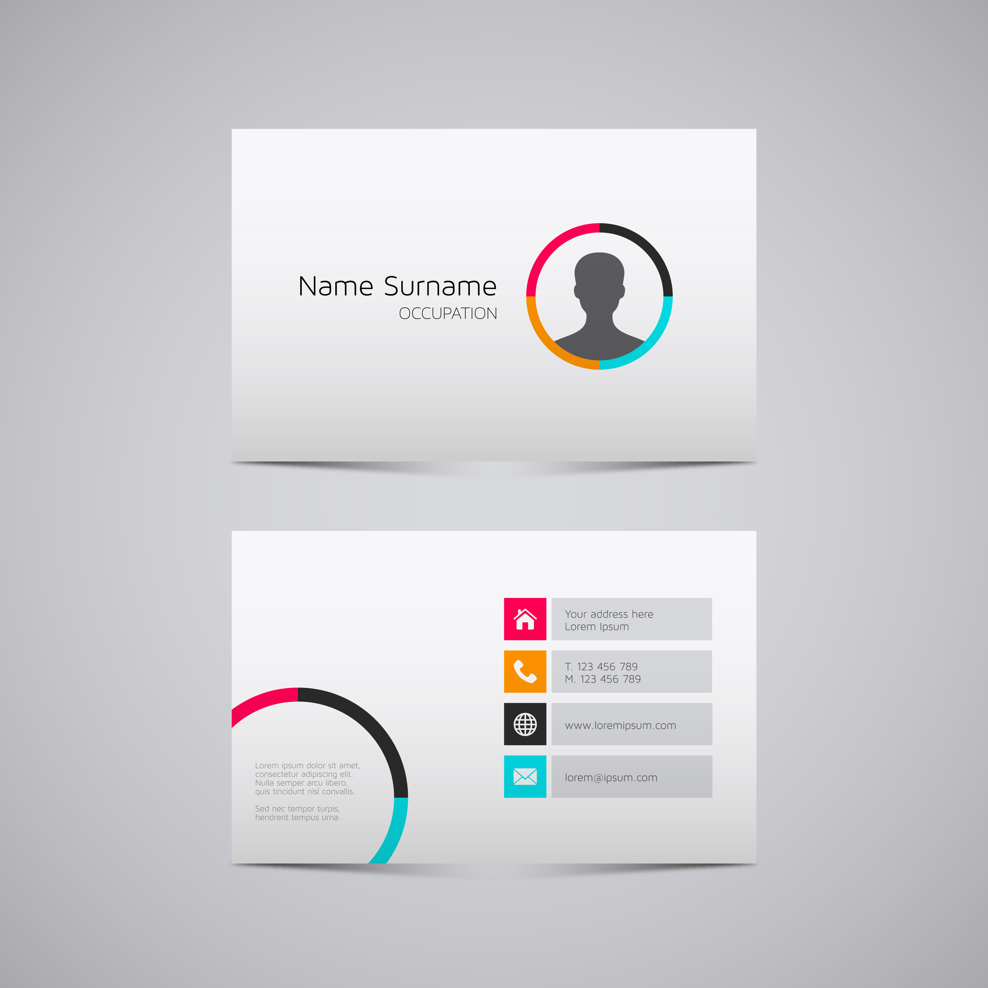 I will create SPECTACULAR modern business card