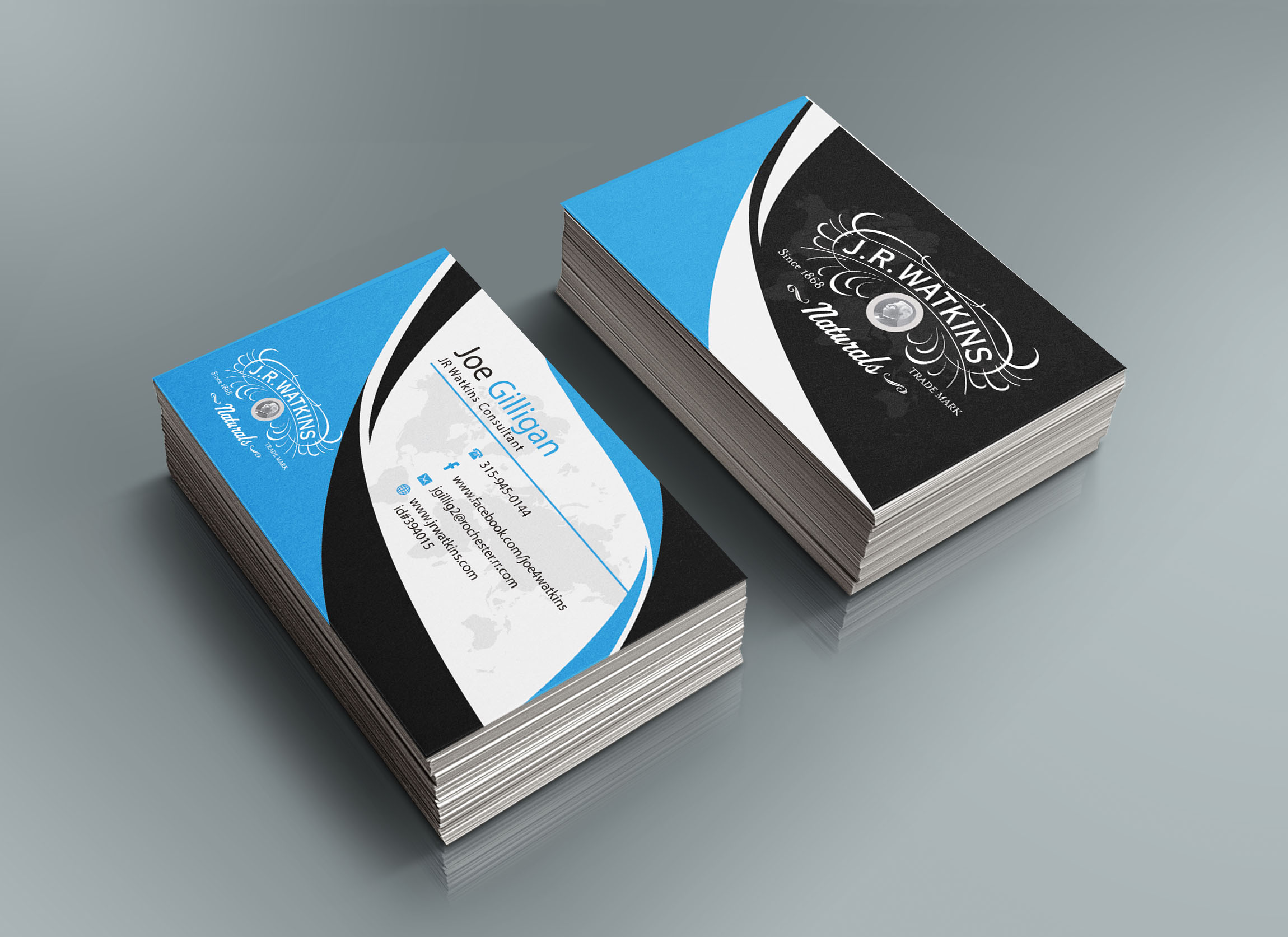 I will design a Charming Business card in 24 Hours for $9 - SEOClerks