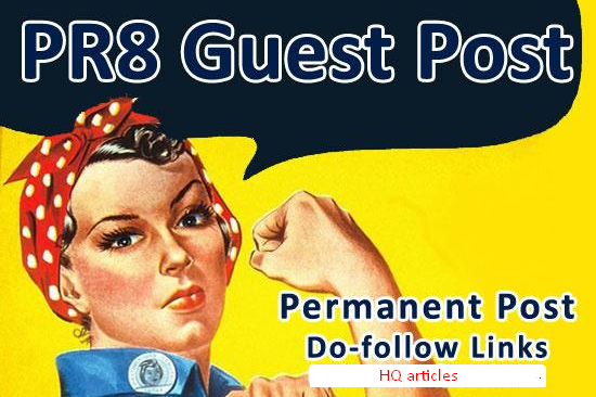 Authority POWERFUL guest posts 2X PR8 at the lowest prices