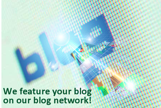 I will feature your blog on our blog network