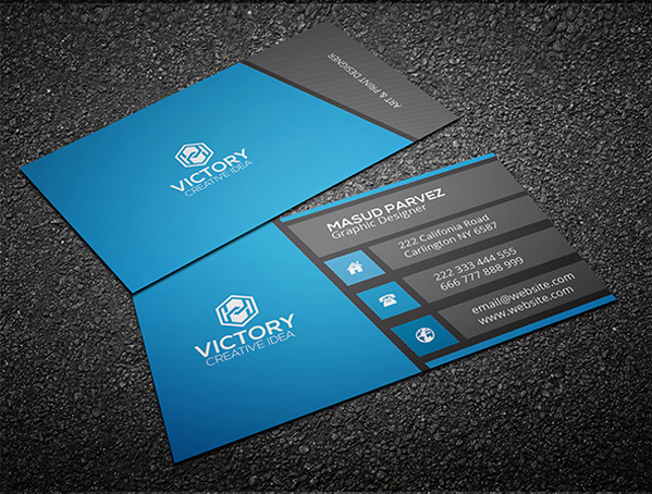 I will design professional business card for 5 seoclerks i will design professional business card reheart Gallery