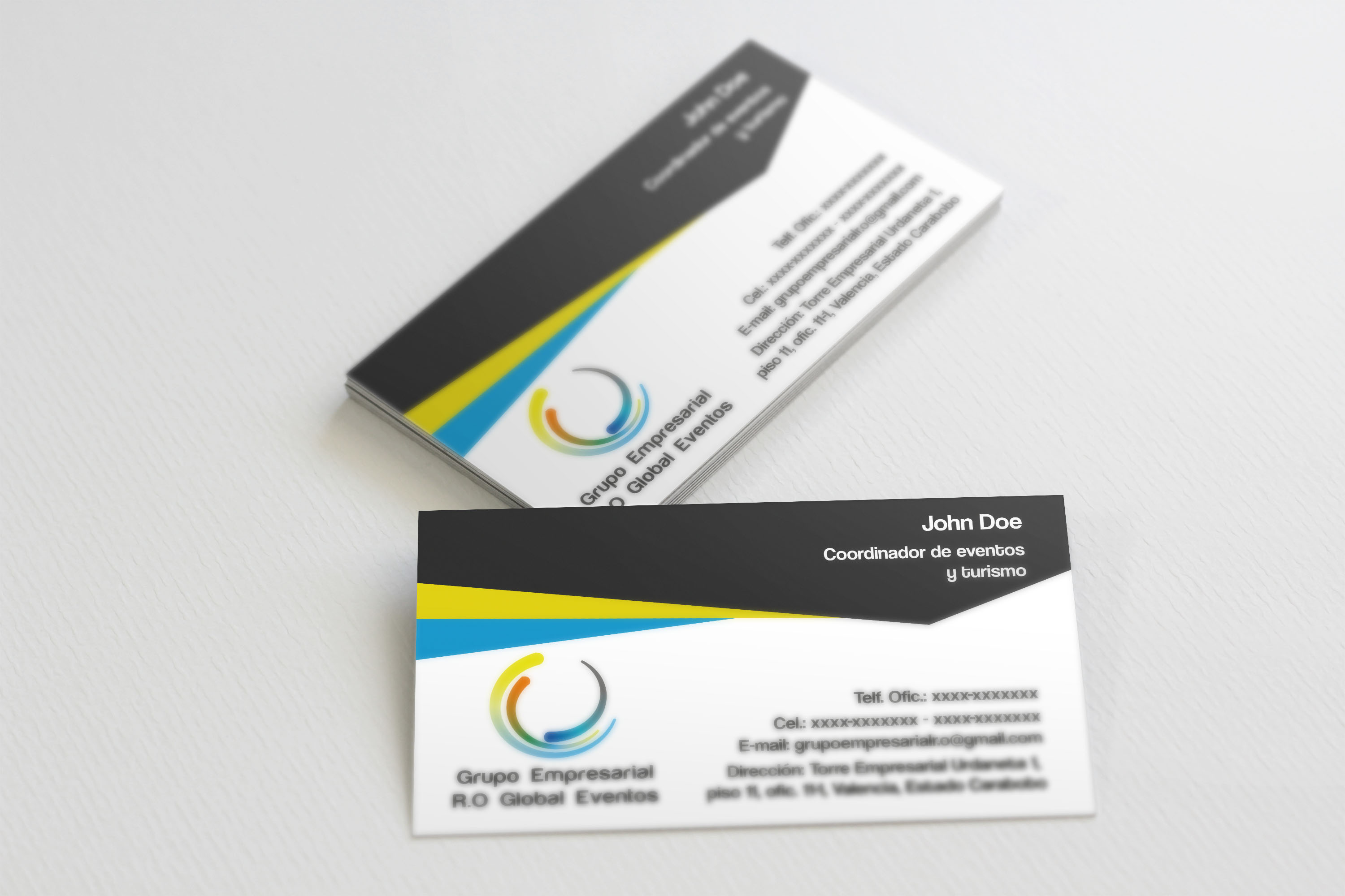 I will design a stuning business card