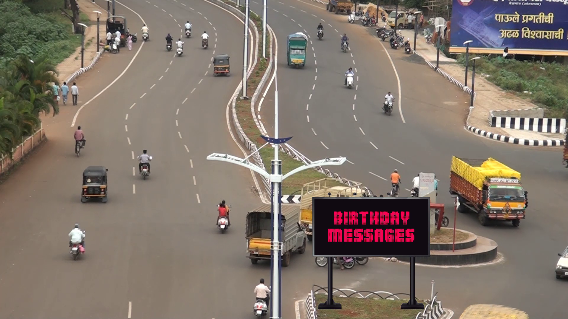 Advertise your message on LED billboard in Belgaum In...