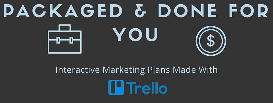 Interactive Custom Marketing Plan