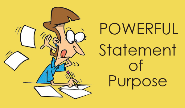 I will write Statement of Purpose SOP for your master, scholarship and internship
