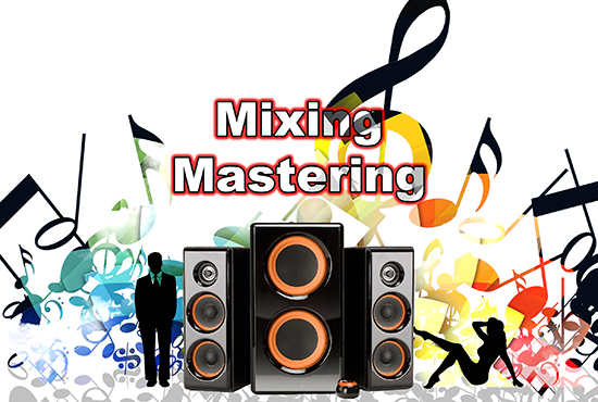 Master, mix or edit your song or audio