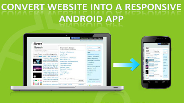 I will convert your website to android apk