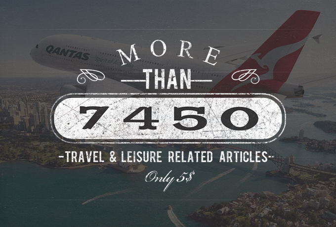 More than 35,000 Health, Wellness & Fitness & Travel & Leisure & Online Business Related Articles